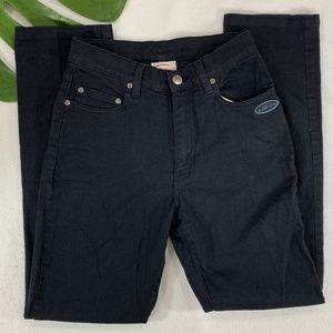 Black Regular Rise Jeans (Oxbow, from France)